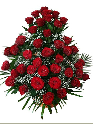 Red Rose Flower Arrangement...