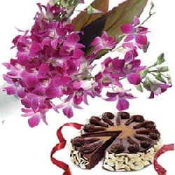 Purple Orchids N Chocolate...