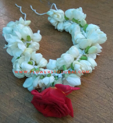 Jasmin bracelet with rose